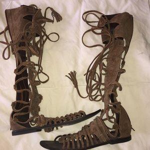 Free people gladiator sandals
